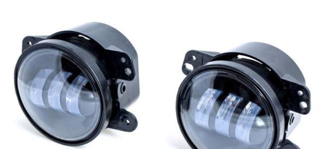 Светодиодные противотуманные фары для автомобиля