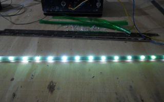 Как собрать светодиодную ленту своими руками