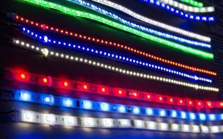 Разновидности светодиодных лент по основным характеристикам