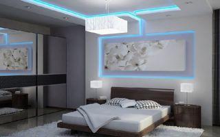 Варианты освещения светодиодной лентой в квартире