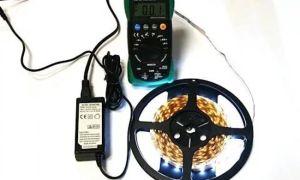 Проверяем и ремонтируем светодиодную ленту