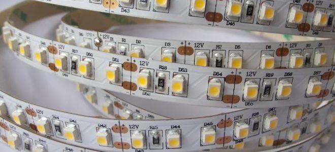 Применение и характеристики светодиодной ленты SMD 3528