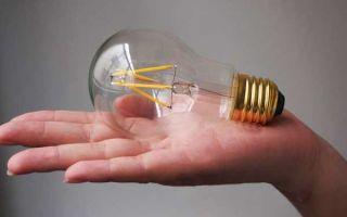 Что такое филаментная LED лампа