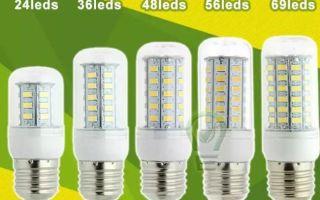 Что представляют из себя светодиодные лампы из Китая