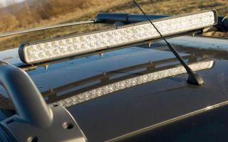 Как выбрать и установить светодиодную балку на автомобиль