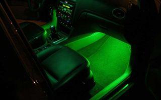 Установка и подключение светодиодной ленты на авто