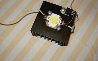 Подключение светодиодов через стабилизатор тока