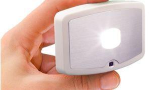 Все о светодиодных светильниках на батарейках