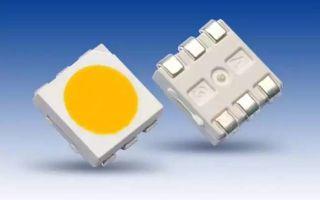 Светодиоды SMD 5050: технические характеристики и описание