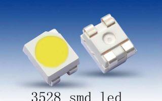 Светодиод SMD 3528: описание и технические характеристики