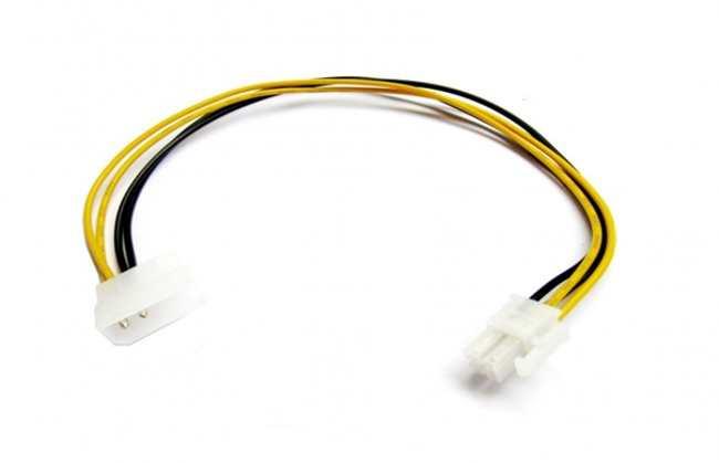Коннектор подключения RGB ленты к компьютеру