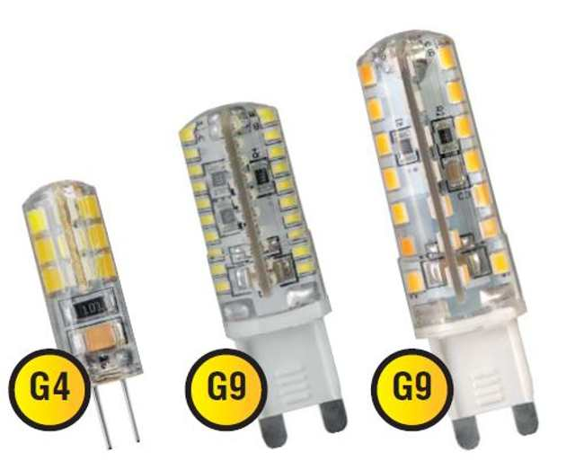 led цоколь g9 и g4