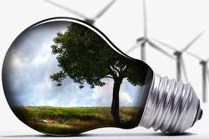 светодиодная лампа в окружающей среде