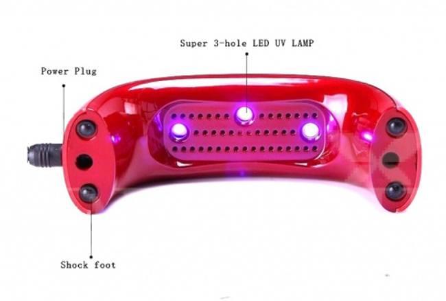 led лампа для ногтей мост