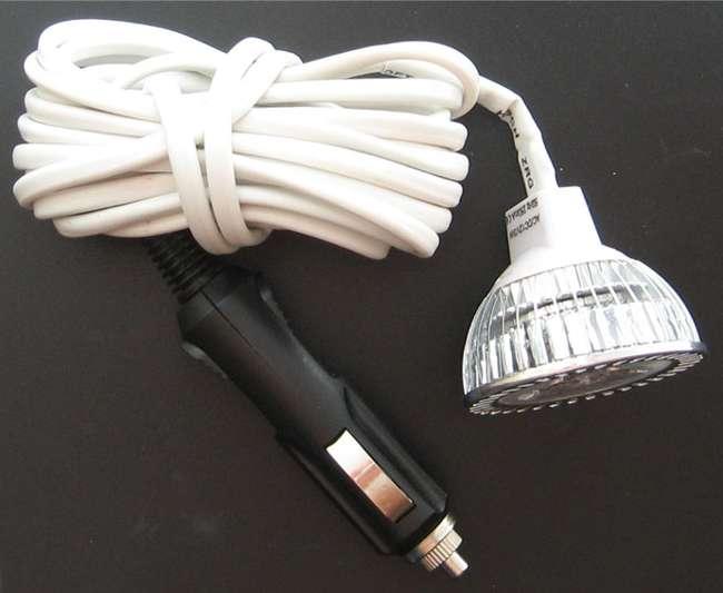 Светодиодная переноска из точечного светильника
