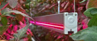 Светодионая подсветка теплиц