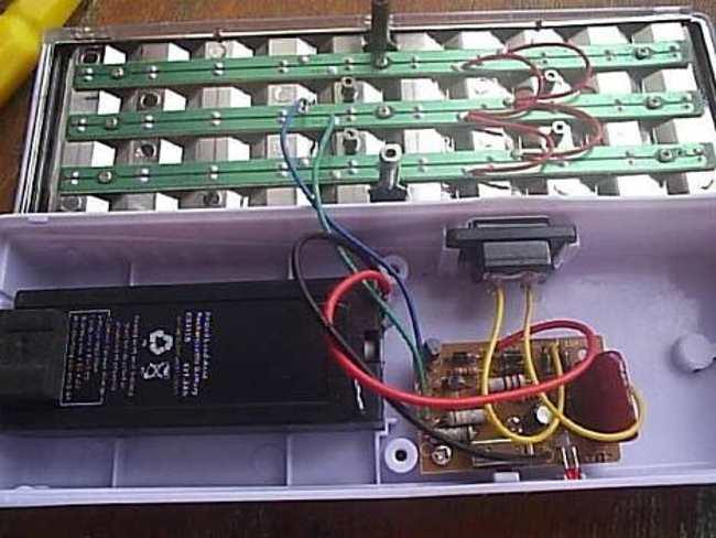 Аккумулятор светодиодного светильника