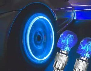 светодиодные колпачки на колеса