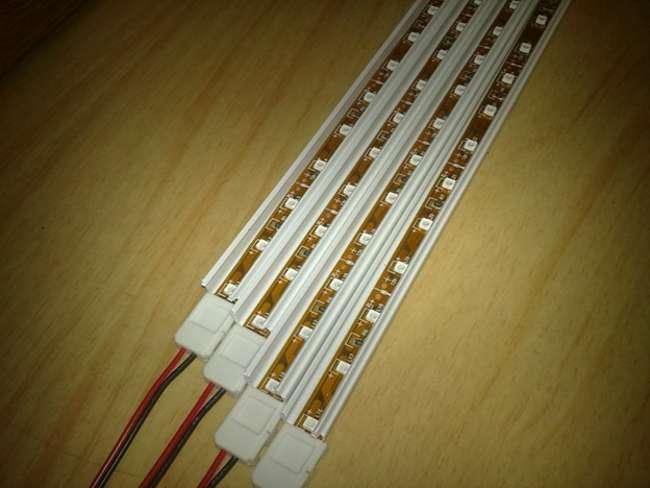 led лента в кабель канале