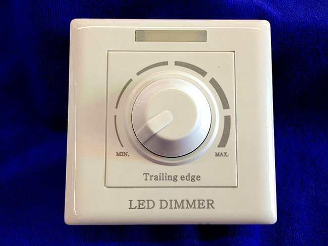 Механический диммер для лед ламп