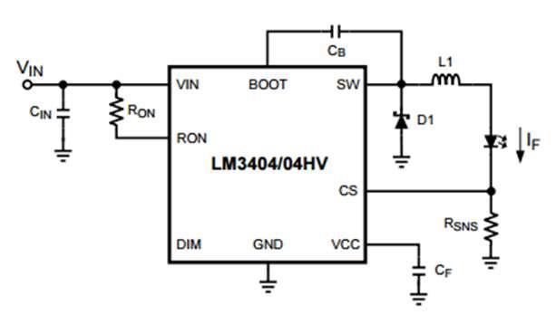 микросхема lm3404