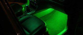 подключение led ленты в авто