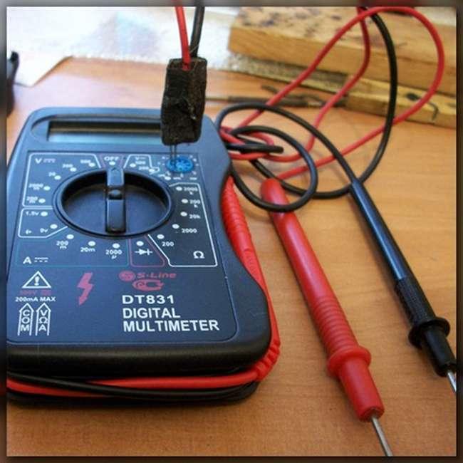 приспособление для проверки светодиода мультиметром