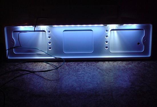 светодиодная рамка для автомобиля