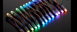 подключение светодиодов к 220 вольтам