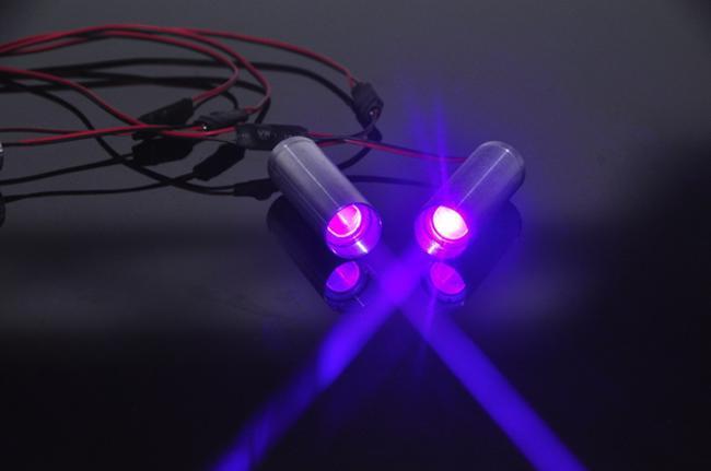 лазерный светодиод в работе