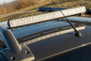 светодиодная балка на крышу автомобиля