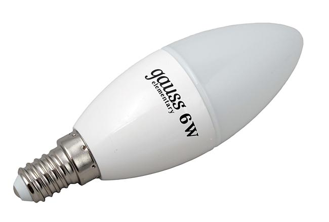 светодиодная лампа с цоколем е14