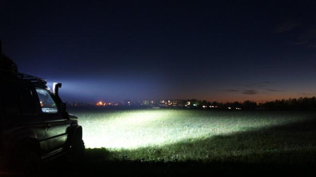 пример света светодиодной балки