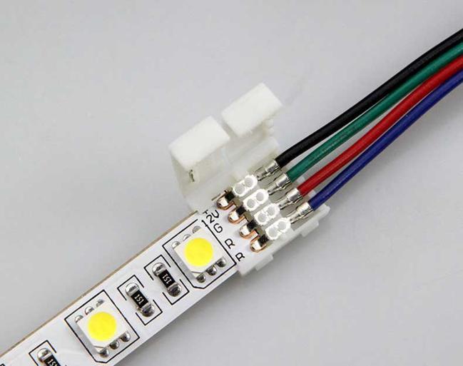 как соединить светодиодную ленту