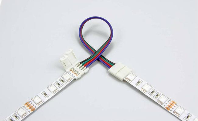 как соединить две светодиодные ленты
