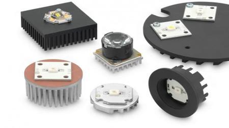игольчатый радиатор для светодиода