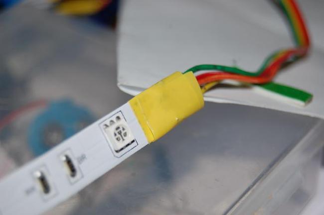 Изоляция светодиодной ленты