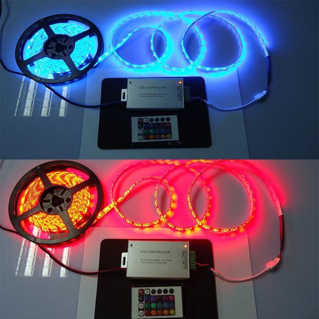 управление яркостью светодиодной ленты 5050