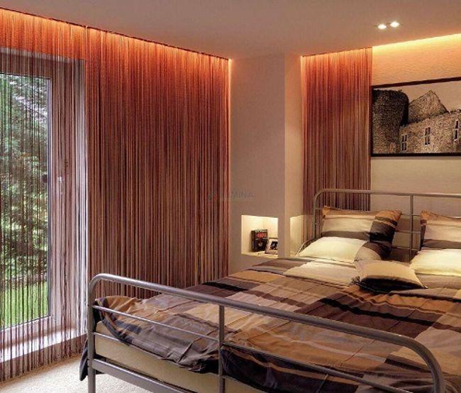 подсветка спальни светодиодной лентой