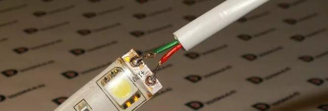 Окисление контактов светодиодной ленты