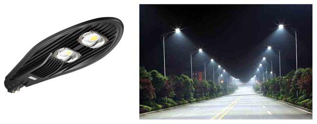 консольные led светильники для улицы