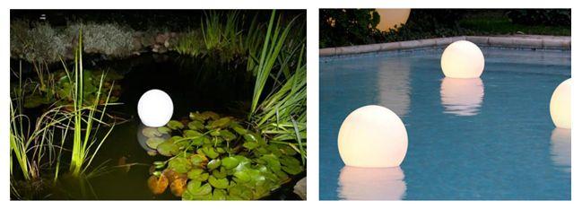 плавающие светодиодные светильники уличные