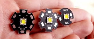 led cree xml t6