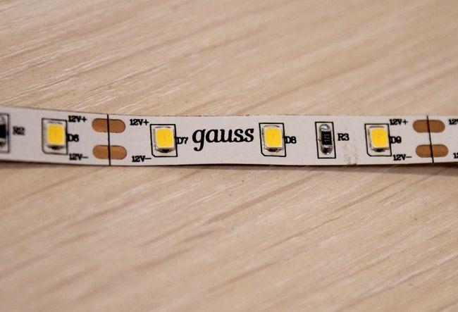 Светодиодная лента SMD 3528 производства фирмы Gauss