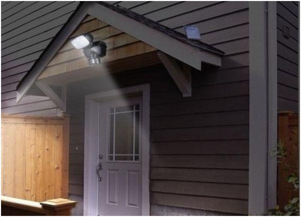уличный светильник на крышу