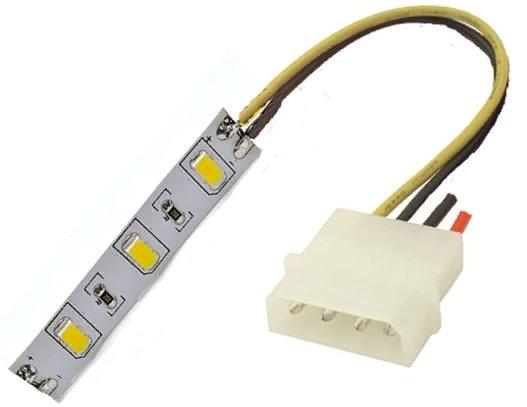 переходник для БП подключение led ленты