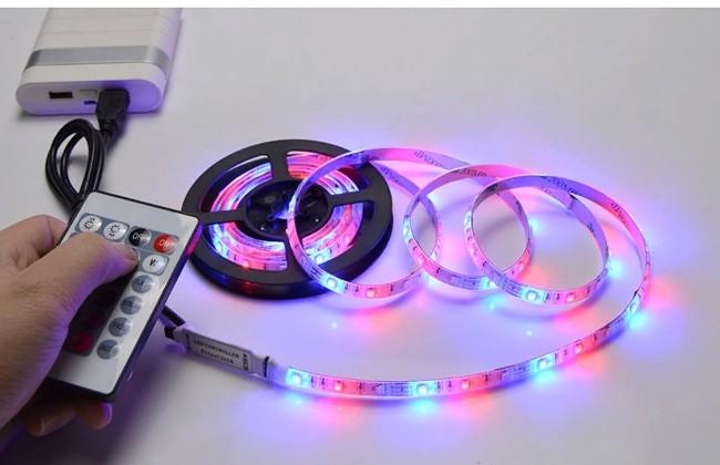 Светодиодная лента RGB подключаемая к USB порту компьютера