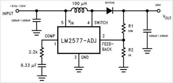 Схема преобразователя для подключения светодиодной ленты к ПК